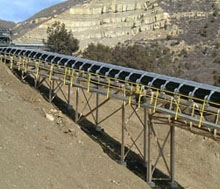 Conveyor belt system I